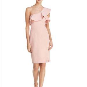 Bardot Ruffled One Shoulder Dress